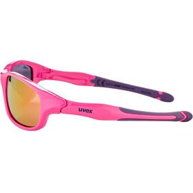 UVEX Sportstyle 507 Glasses Kids, pink purple/mirror pink